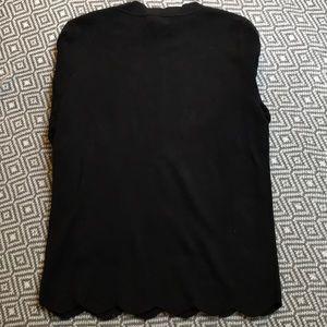 Halogen Sweaters - New✨Halogen Black Scallop Hem Sweater Size Medium